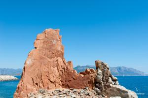 rote Felsen von Arbatax