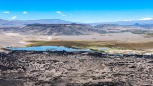 Laguna vor Antofagasta