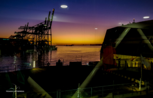 Abfahrt in Montevideo