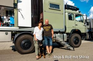 Anja&Rolf mit Shiraz